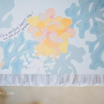 guest book paintings